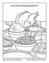 Coloring Feast Thanksgiving Designlooter sketch template