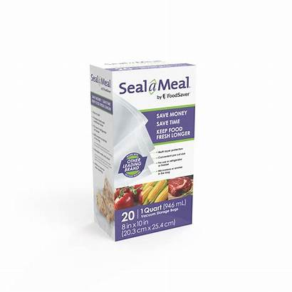 Seal Vacuum Bags Meal Foodsaver Quart Pack
