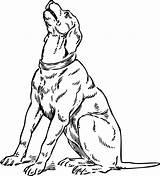 Dog Barking Clipart Coloring 1450 Sign sketch template