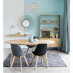 Table A Manger Ovale : table manger ovale 8 personnes l200 origami maisons du ~ Melissatoandfro.com Idées de Décoration