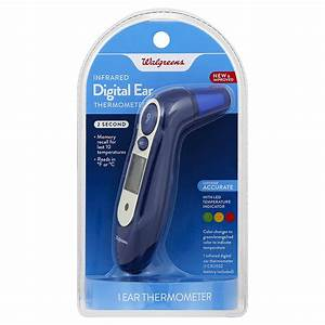 Walgreens Infrared Instant Ear Digital Thermometer