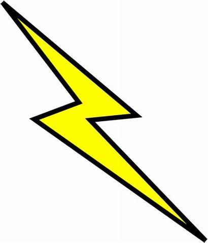 Bolt Lightning Clipart Clip Clker Scar Vector