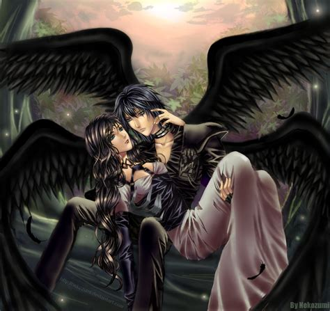anime couple dark dark angel couple photo by angel of darkness 89 photobucket