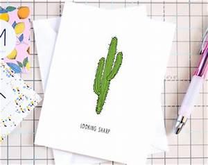 Cactus pun Etsy