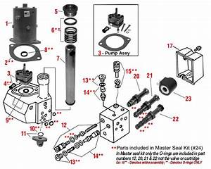 Western Snow Plow Electric Solenoid Power Pack Parts