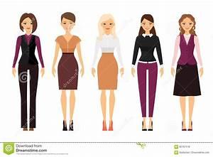 Femmes Dans Des Vtements De Code Vestimentaire De Bureau