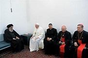 Pope Francis Meets Iraq's Top Ayatollah as Both Urge Peace ...