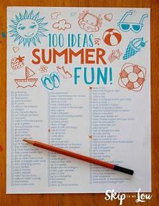 100 Fun Summer Activities For Kids