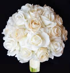 touch chagne roses bouquet