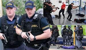 Gardai Carry Out Anti-Terror Exercise In Dublin City Centre