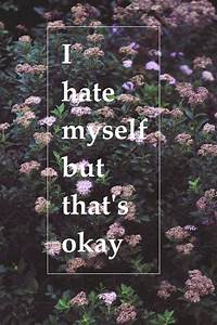 Hate Myself Quotes. QuotesGram