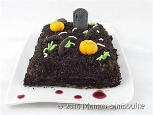 Gateau D Halloween : g teau de cr pes cimeti re d 39 halloween maman tambouille ~ Melissatoandfro.com Idées de Décoration