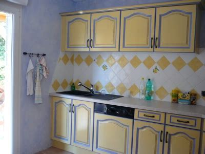 deco faience cuisine cuisine provencale verte et jaune