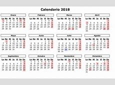 Calendario 2018 para imprimir 2019 2018 Calendar Printable with holidays list Kalender