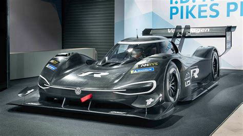 Volkswagen Says Its New All-electric Prototype Racer Is