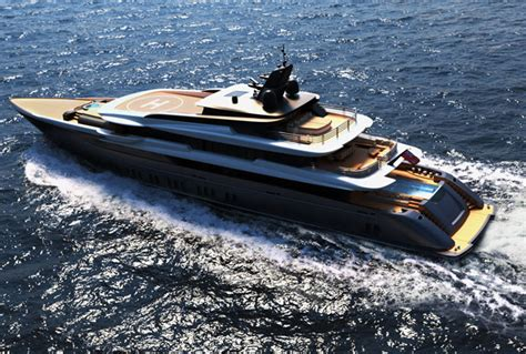 Ferrari, of course, but also rolls royce are among the sponsors of this year's. Modern M/Y F60 Concept Yacht by Ferrari Franchi Design - Tuvie
