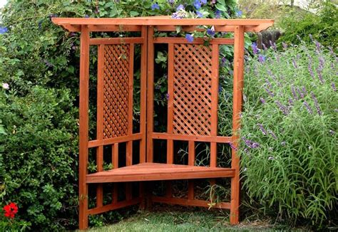 arbor prices corner trellis greenstone garden arbors contemplation garden arbor gs00235 lowest price