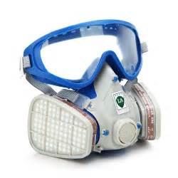 silicone full face respirator gas mask goggles