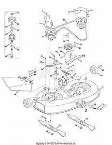 Mtd 13av76gf897  2010   V76gf  2010  Parts Diagram For Mower Deck 38