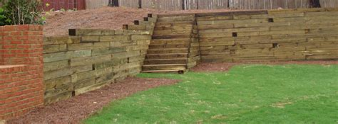 Cross Tie Retaining Wall  Estate, Buildings Information