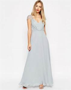 asos asos kate maxi robe en dentelle chez asos With robe dentelle asos