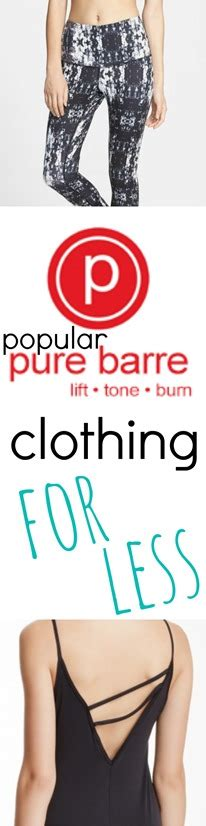 designer brands for less barre clothing for less peanut butter fingers