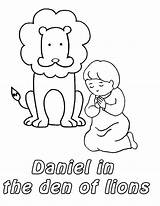 Daniel Den Lions Coloring Lion Pages God Bible Activities Prostrated Lessons Preschool Craft Story Template Sunday Netart Crafts Children Toddler sketch template
