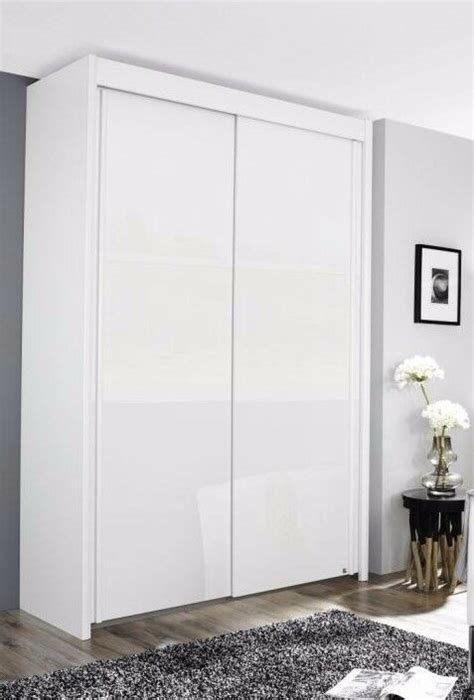 Wide White Wardrobe by Rauch Imperial Sliding Door Wardrobe 181cm Wide With High