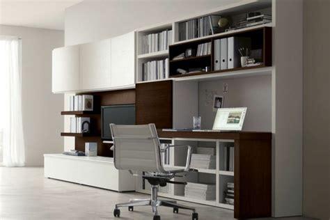 bureau moderne design aménagement de bureau moderne dans un salon design
