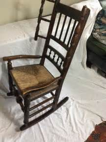 mid 19th century spindle back rocking chair antiques atlas