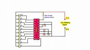 12v Battery Voltage Level Indicator And Checking Using