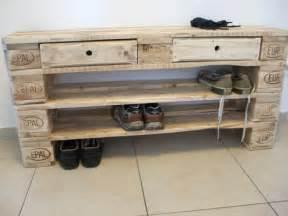 Schuhschrank Aus Paletten : schuhschr nke schuhregal gro fullen aus paletten schubladen ein designerst ck von ~ Buech-reservation.com Haus und Dekorationen