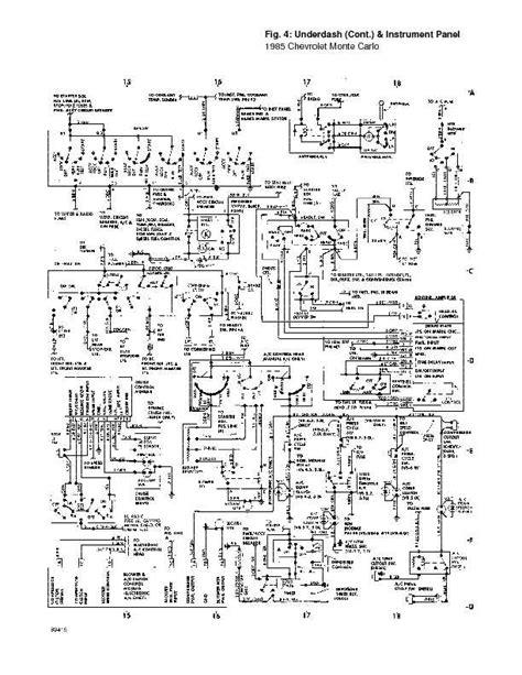 Chevrolet Monte Carlo Complete Wiring Diagrams
