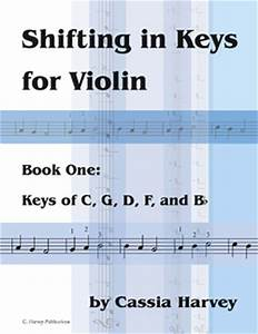 Shifting In Keys For The Violin Book One