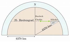 Erdradius Berechnen : sichtweite des burdsch chalifa martin thoma ~ Themetempest.com Abrechnung