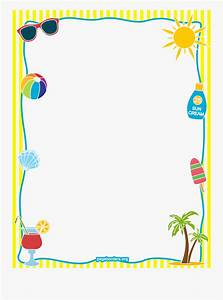 School, Border, Png, Image, -, Summer, Page, Border, Free, Transparent, Clipart