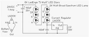 Regulated 24 Watt Broad Spectrum Led