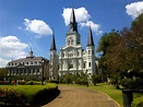 Jackson Square in New Orleans Wishes You Were Here