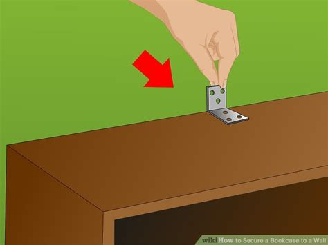 how to secure bookcase to wall how to secure a bookcase to a wall 15 steps with pictures
