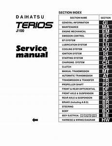 Daihatsu Terios J100 Pdf  39 5 Mb