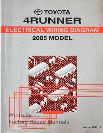 Toyotum 4runner Wiring Diagram Lifier by 2005 Toyota 4runner Electrical Wiring Diagrams Manual