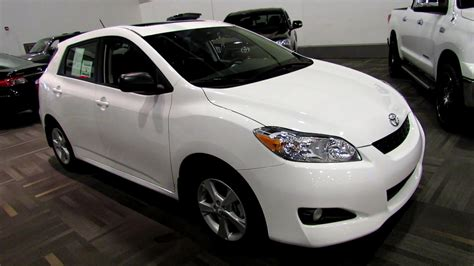 2013 Toyota Matrix by 2013 Toyota Matrix Exterior And Interior Walkaround