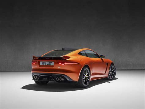 jaguar showcases f pace svr berofe official release