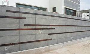 Application of natural stone on interior exterior walls floor