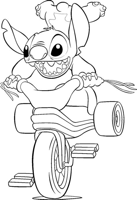 printable lilo  stitch coloring pages  kids