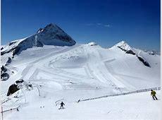 Ski resort Hintertux Glacier Hintertuxer Gletscher