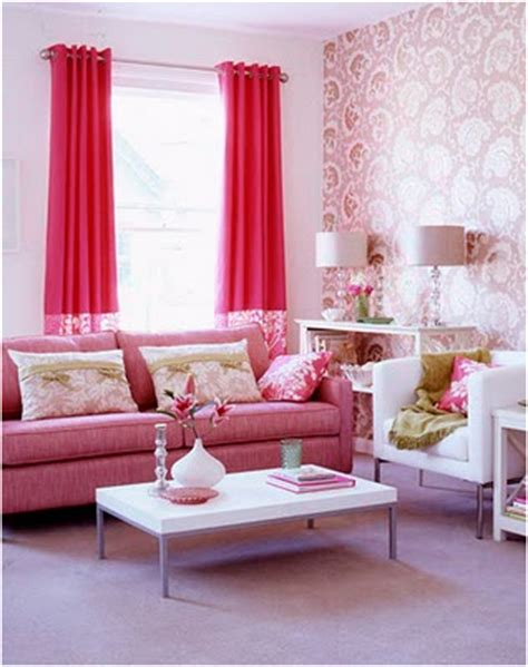 Romantic Style Living Room Design Ideas  Room Design