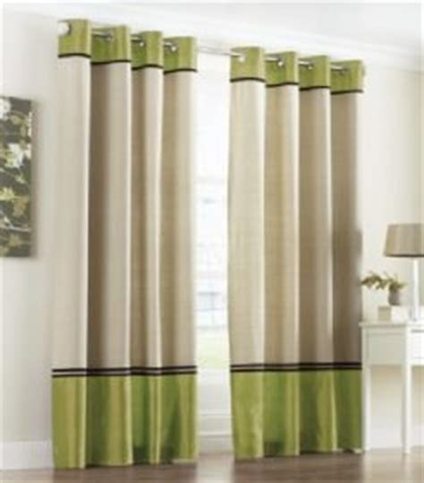 jackson faux silk eyelet curtains in lime green 66 quot x 90