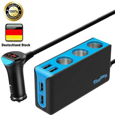 zigarettenanzünder adapter steckdose zigarettenanz 252 nder stecker steckdose adapter usb eur 2 45 picclick de
