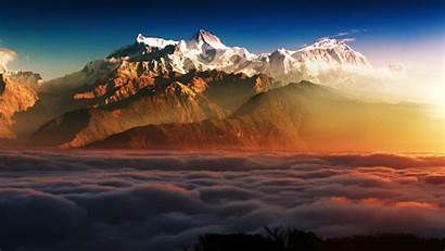Clouds Mountains 8k Mountain Landscape 4k Macbook